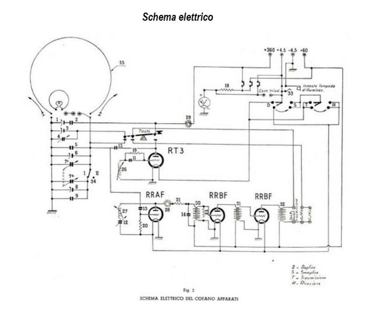 Schema Elettrico Fiat D : Schema elettrico fiat r d fare di